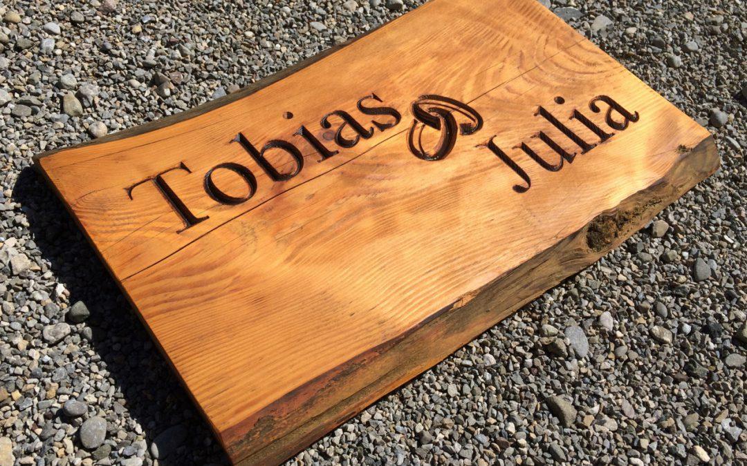 Allgäuer Holzschilder  zum Verschenken