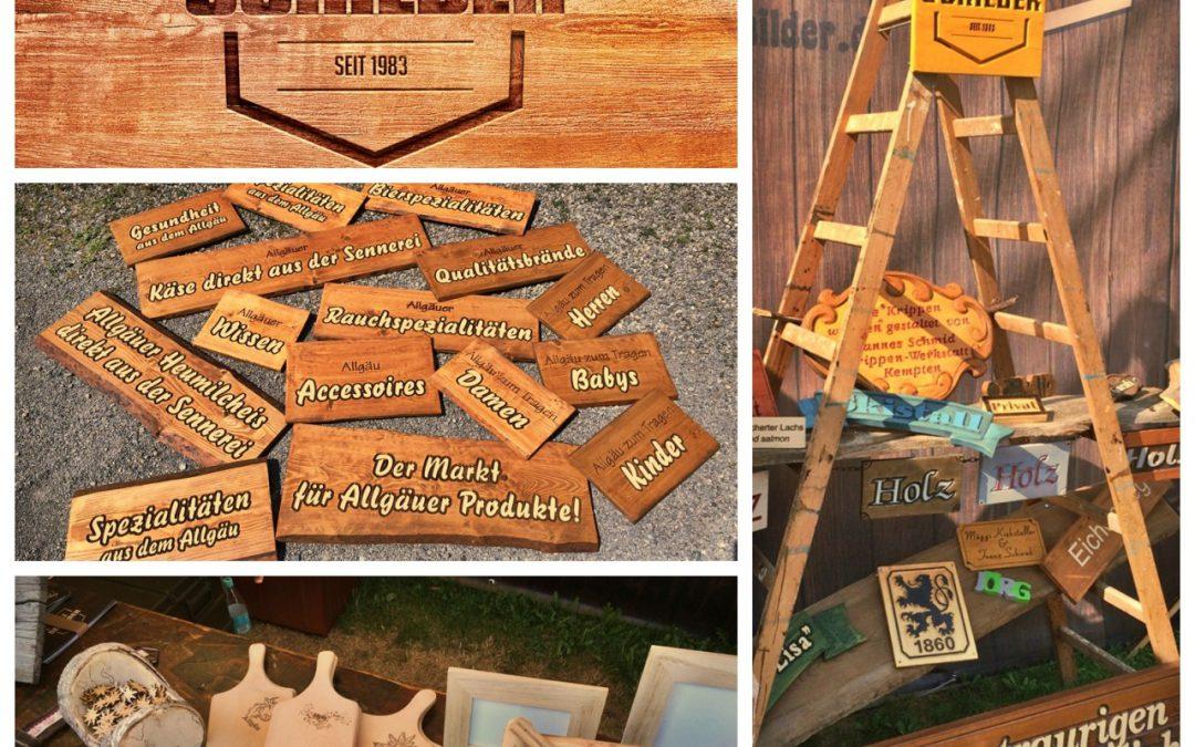 Allgäuer Holzschilder
