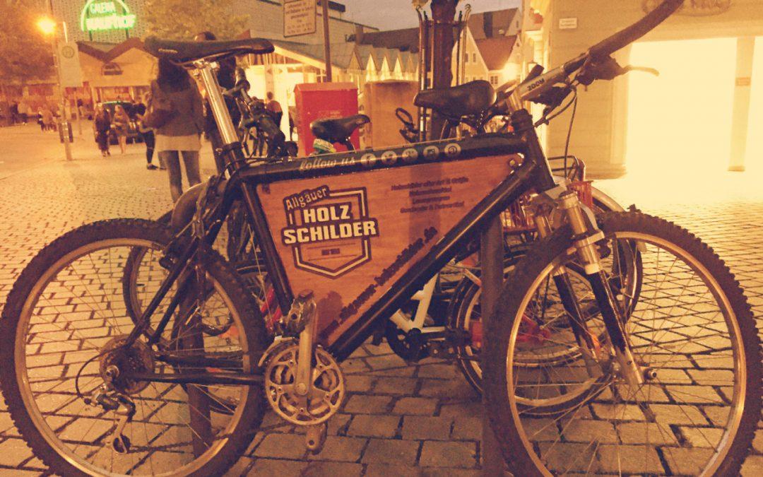 Unser Firmen Fahrrad