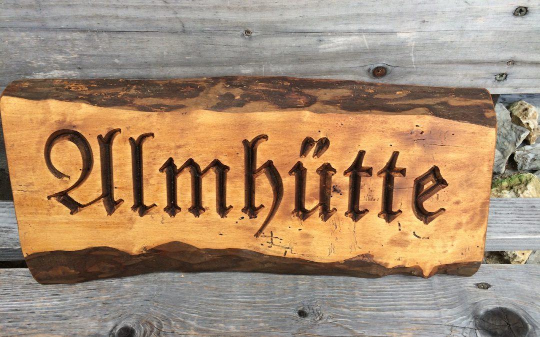 Holzschilder rustikal