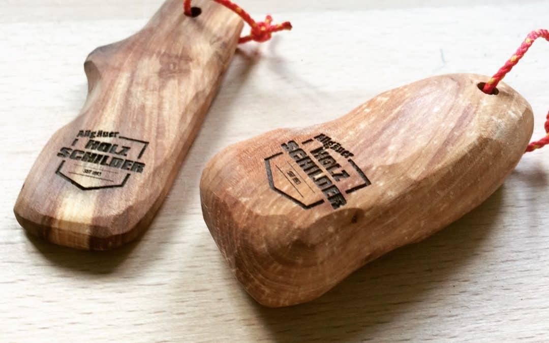 aus gutem Holz geschnitzt – Handschmeichler