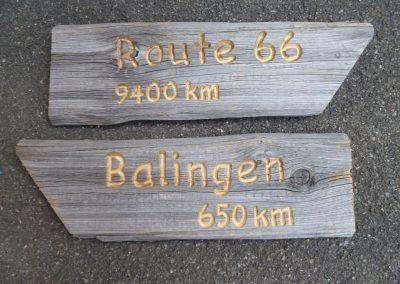 rustikale Altholz Wegweiser Gartenwegweiser