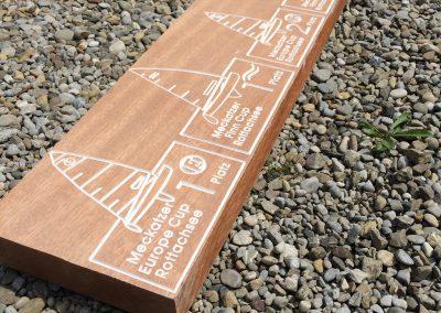 Pokale aus Holz für Segelregatta