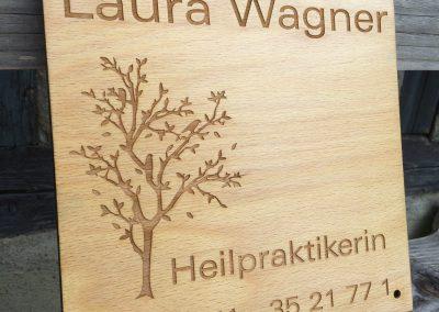 Heilpraktiker Praxis Holzschild