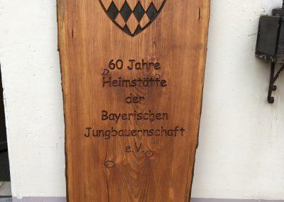 Bayerische Jungbauernschaft Holzschild
