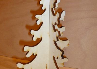 Holztanne steckbar