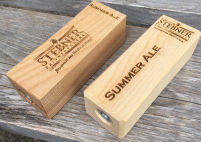 Griffe aus Holz für Zapfhahn
