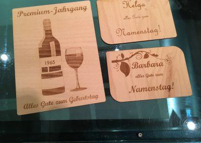 Holzpostkarten Ehrentag