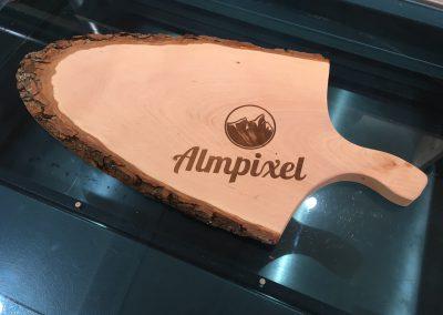 Brotzeitbrett Almpixel