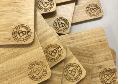 Bambus mit Logogravur