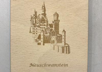 """Holzpostkarte """"Neuschwanstein"""""""